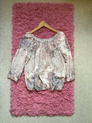 Multiblu Carmen blouse veelkleurig