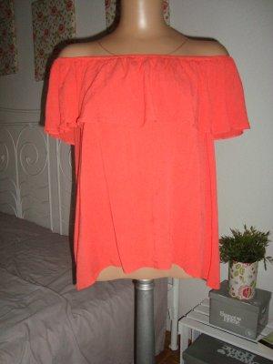 Carmenbluse ,Kurzarmtunika, One Shoulder Bluse, Schulterfreie Tunika, Gr.36-40 passend