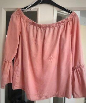 Only Carmen Blouse dusky pink
