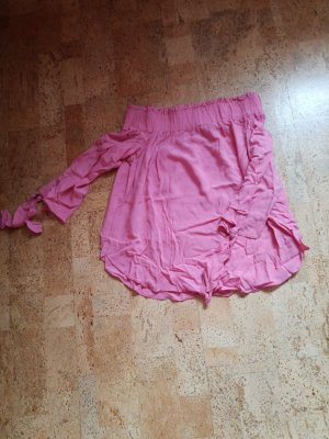 H&M Carmen shirt roze