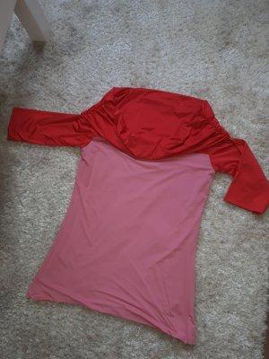 Wolford Carmen shirt framboosrood-roze