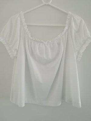 H&M Oversized Shirt white
