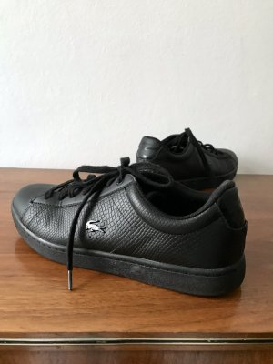 Lacoste Lace-Up Sneaker black leather