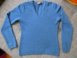 Carnabys 100% Cashmere Pullover Blau Gr.36 NEU