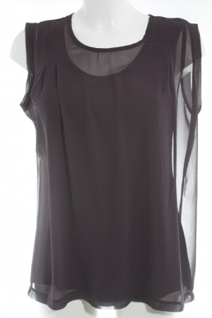 Carnabys Blouse Top brown violet casual look