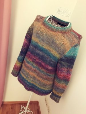 Zara Coarse Knitted Sweater multicolored