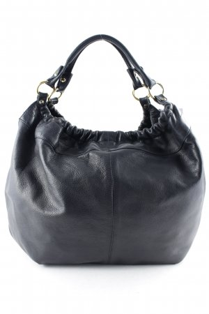 Carol J. Pouch Bag dark blue-black elegant