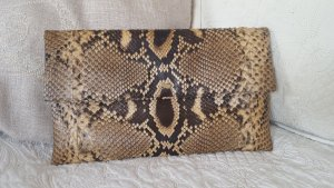 CAROL Python Clutch Bag Nature