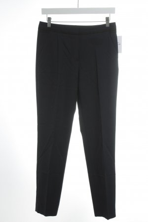 Caroll Bundfaltenhose dunkelblau Business-Look
