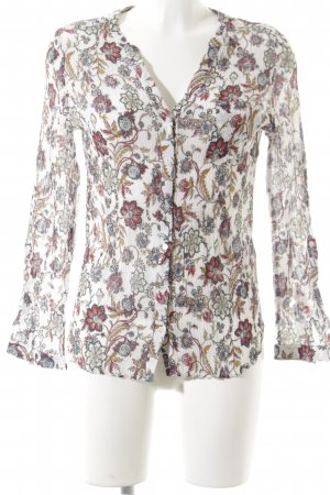 Caroll Crash-Bluse florales Muster Casual-Look