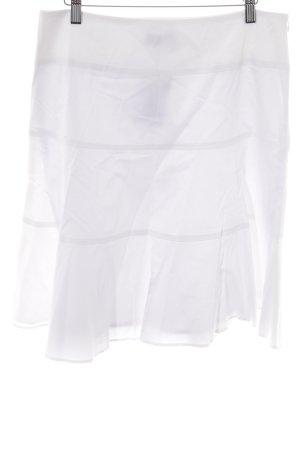 Caroll Glockenrock weiß-wollweiß schlichter Stil