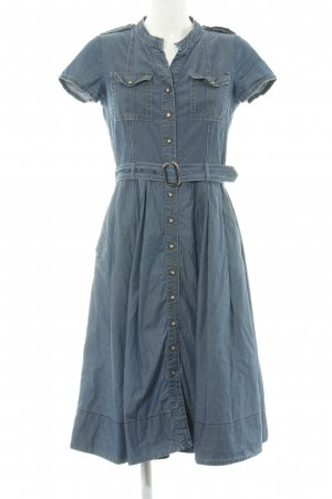 Caroll Denim Dress blue casual look