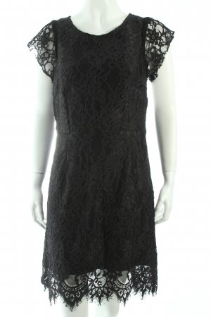 Caroll Spitzenkleid schwarz Elegant