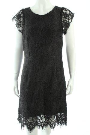 Caroll Spitzenkleid schwarz Eleganz-Look