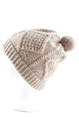Carraigdonn Chapeau en tricot blanc cassé style décontracté