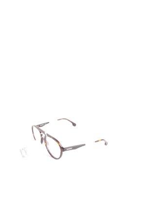Carrera Brille dunkelbraun-hellbraun Casual-Look