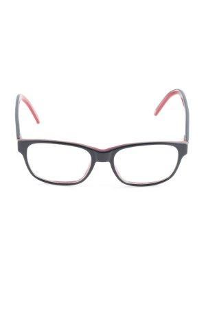 Carrera Brille schwarz-dunkelrot Casual-Look