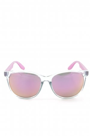 Carrera Oval Sunglasses pink-light orange casual look
