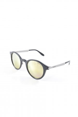 Carrera Retro Brille schwarz-goldfarben Casual-Look