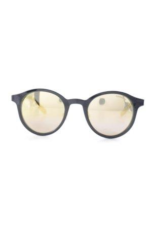 Carrera Retro Brille schwarz-goldfarben Casual-Look
