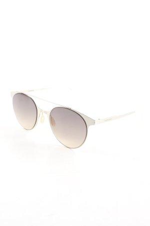 Carrera Retro Brille silberfarben Elegant