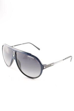 Carrera runde Sonnenbrille blau Casual-Look