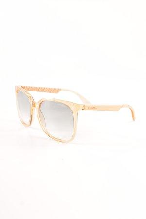 Carrera runde Sonnenbrille hellorange extravaganter Stil