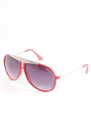 Carrera Round Sunglasses red athletic style