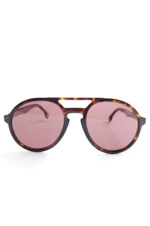 Carrera Gafas de sol redondas marrón-negro-marrón claro look casual