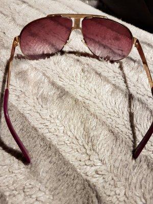 carrera Sonnenbrille 2mal getragen in pink rosa gold wunderschönes Design
