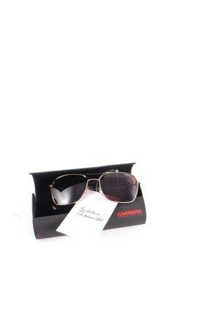 Carrera Sonnenbrille goldfarben-graulila schlichter Stil