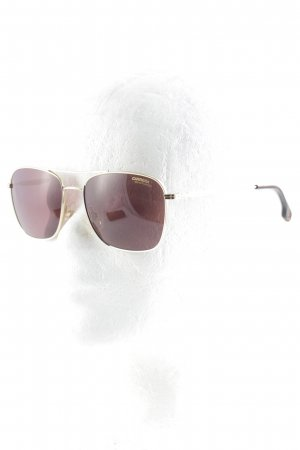 Carrera Sunglasses gold-colored-grey lilac simple style