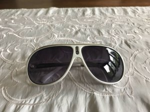 Carrera Aviator Glasses white synthetic material