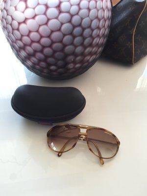 Carrera Sonnenbrille Schildblatt braun