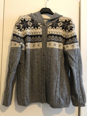 Norwegian Cardigan multicolored wool