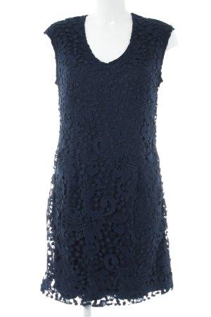 Carry Allen by Ella Singh Lace Dress blue flower pattern elegant