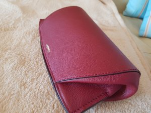 Cartier Clutch donkerrood Leer