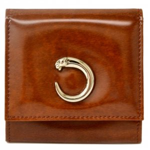 Cartier Wallet brown leather