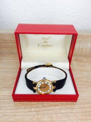 Cartier Damen Uhr Gold