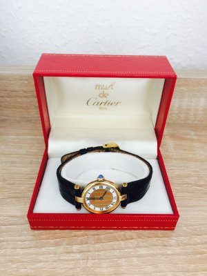 Cartier Damen Uhr Gold