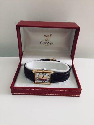 Cartier Damenuhr Gold