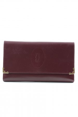 Cartier Wallet bordeaux casual look