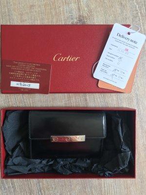 Cartier Portefeuille noir cuir