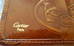 Cartier Portefeuille brun