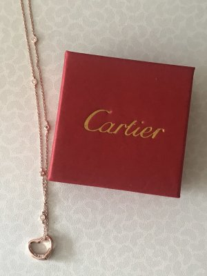 Cartier Collier or rose