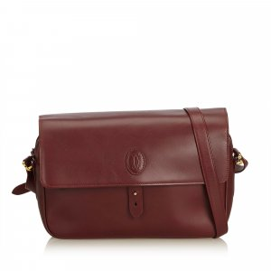 Cartier Leather Crossbody Bag