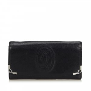 Cartier Wallet black leather