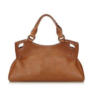 Cartier Leather Marcello Handbag