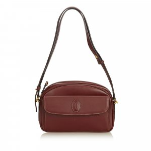 Cartier Leather Must de Cartier Crossbody Bag