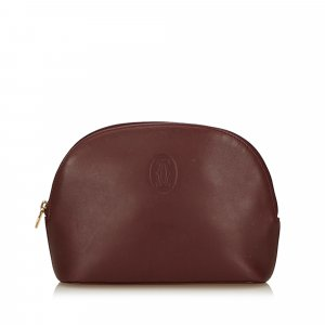 Cartier Leather Must de Cartier Pouch